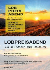 Lobpreisabend Rohrbach @ Pfarrkirche Rohrbach   Linz   Oberösterreich   Österreich