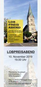 Lobpreisabend Nussbach @ Pfarrkirche Nussbach   Linz   Oberösterreich   Österreich