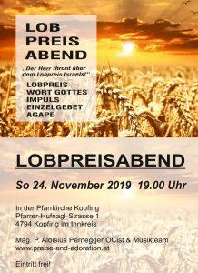 Lobpreisabend Kopfing @ Pfarrkirche Kopfing   Linz   Oberösterreich   Österreich