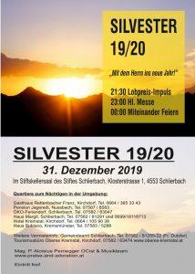 Silvester 2019 / 20 @ Stiftskellersaal Schlierbach | Linz | Oberösterreich | Österreich