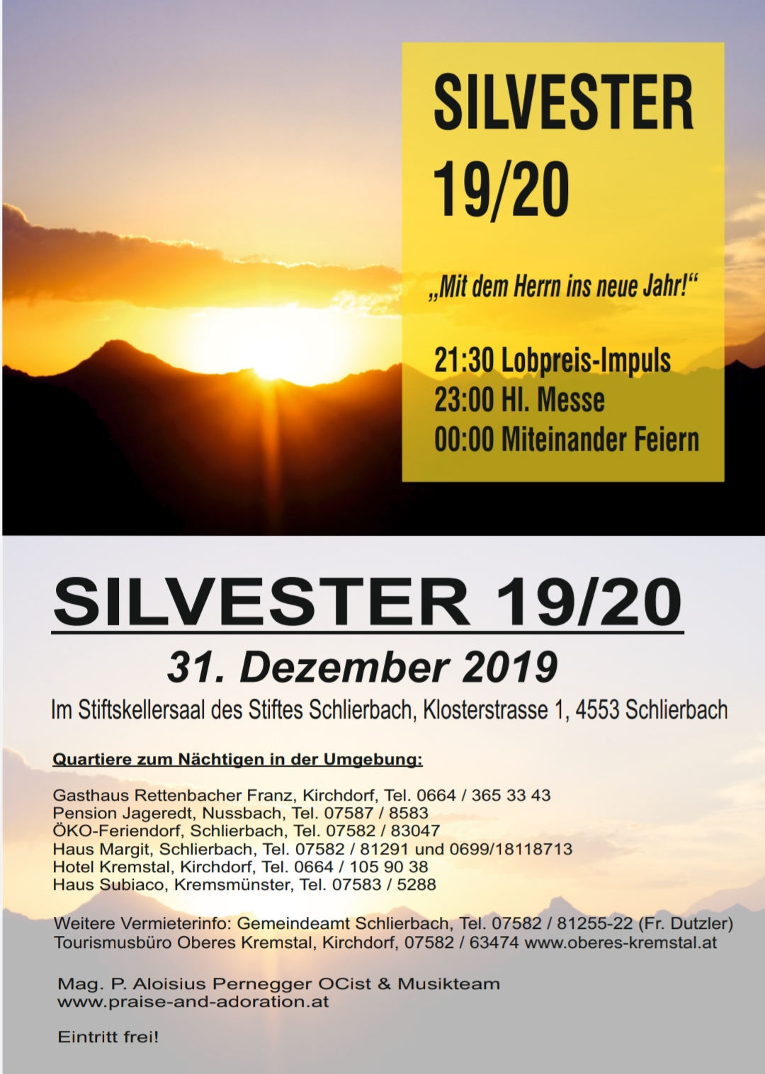 Silvester 2019 / 20